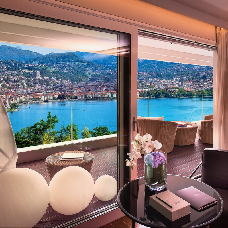 Lot 16 - Relaxing Experience for Two at the The View Hotel, Lugano