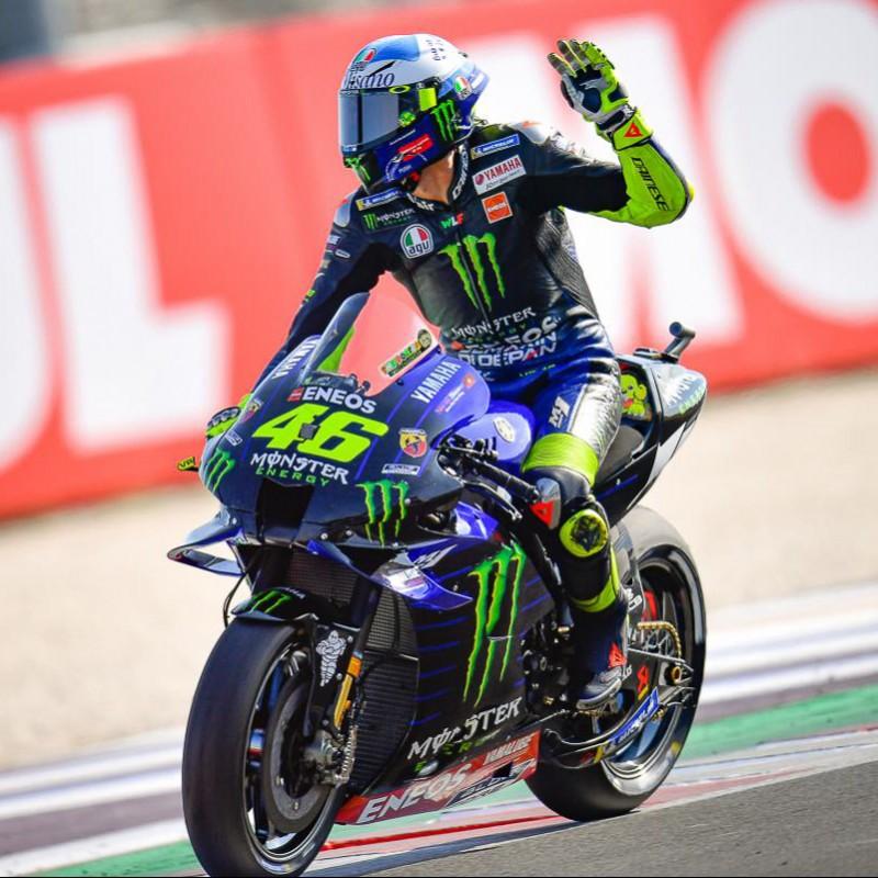 Valentino Rossi Signed Visor