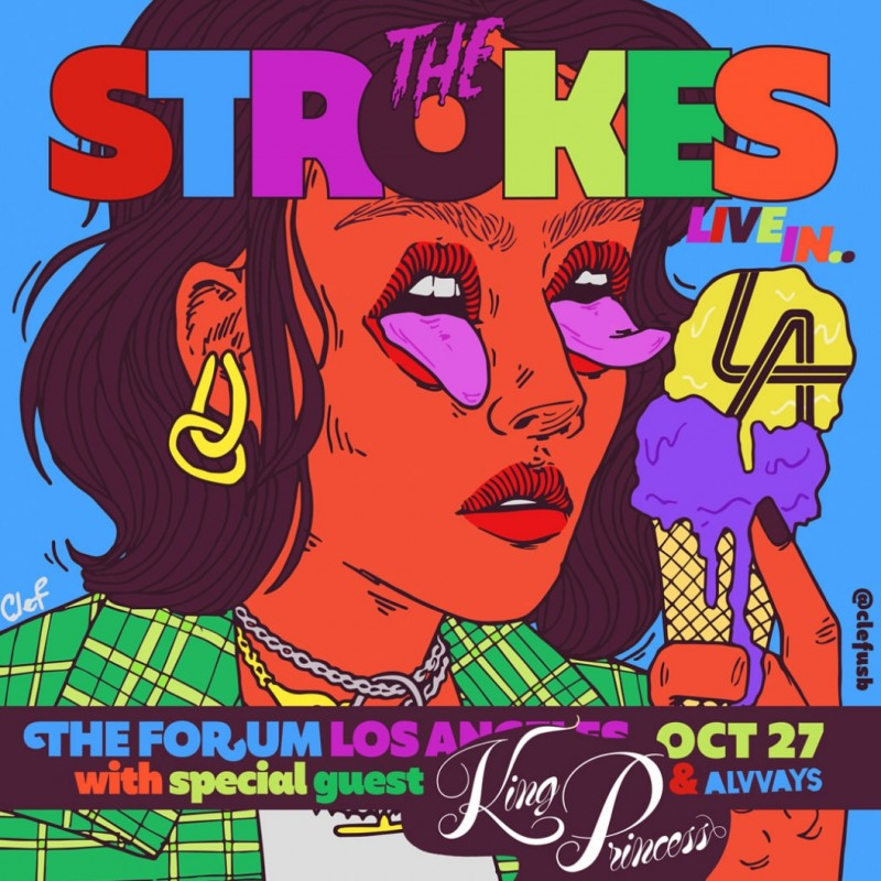 Sit in The Strokes Personal Seats in LA!
