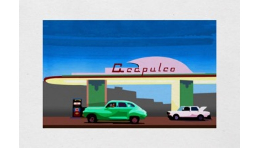"""""""Acapulco Gas Station"""" by Thomas Hussung"""