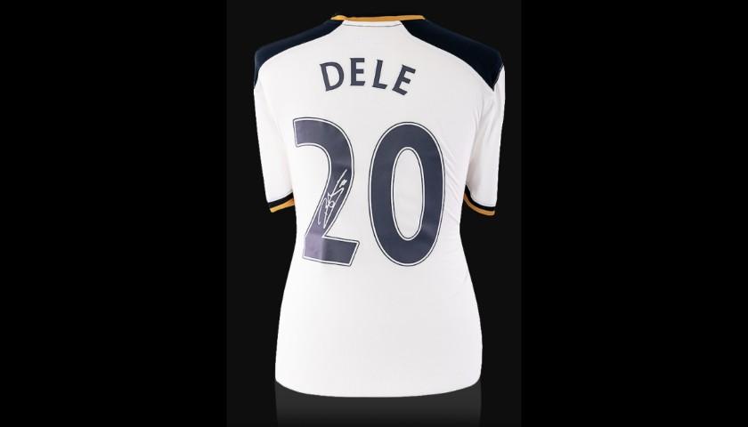Dele Alli Back Signed Tottenham Hotspur 2016-17 Home Shirt