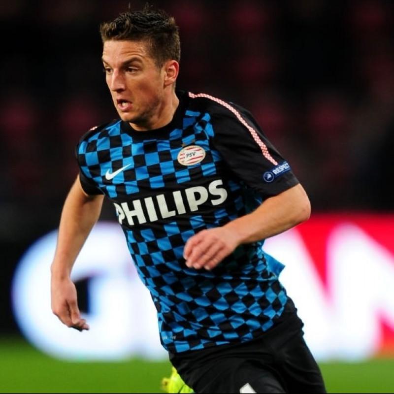 Mertens' Official PSV Signed Shirt, 2011/12