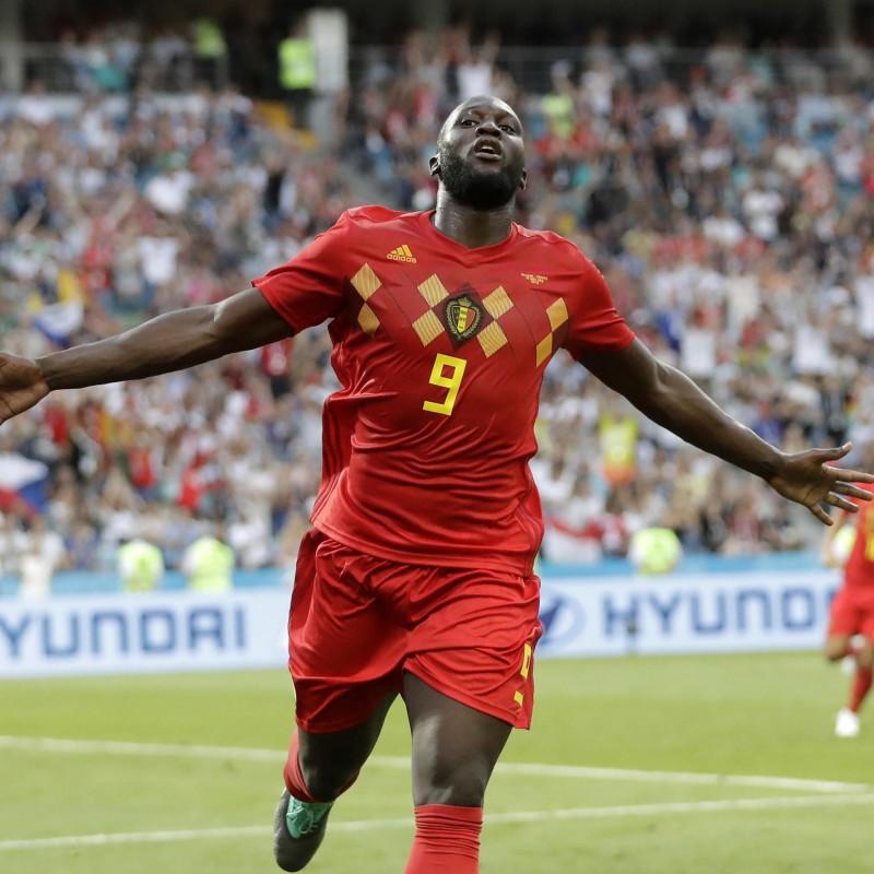 Lukaku's Official Belgium Signed Shirt, 2018