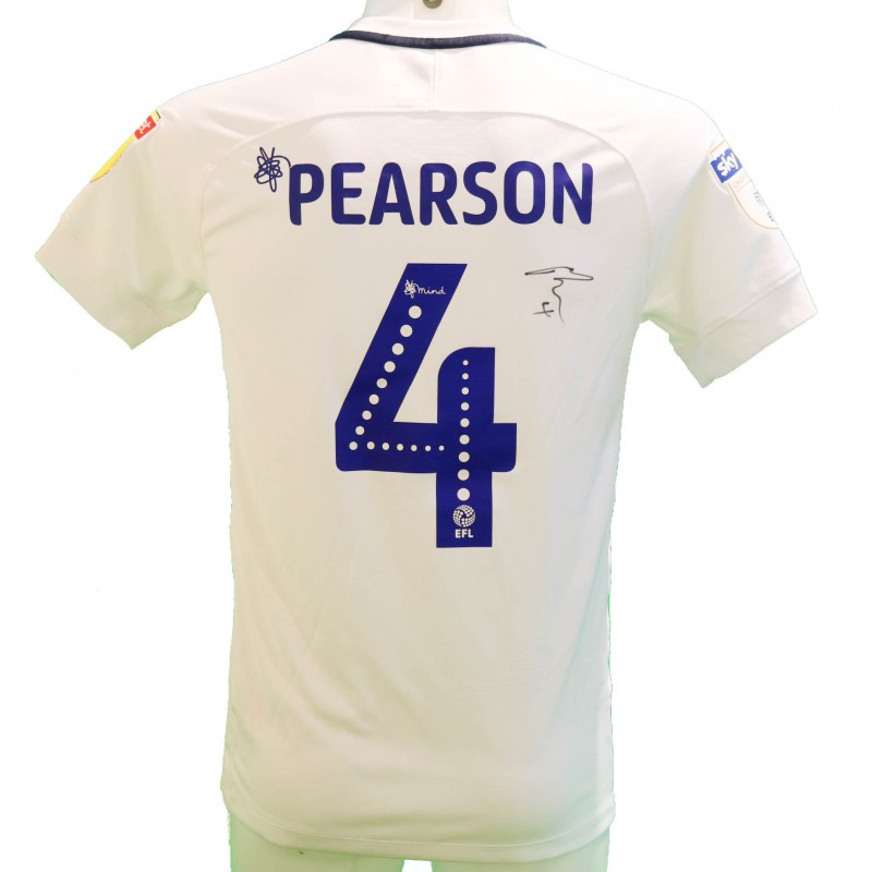 Pearson's Preston Worn and Signed Poppy Shirt