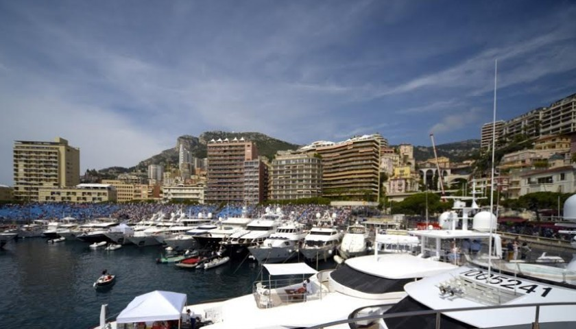 Attend Monaco Grand Prix on a Luxury Yacht