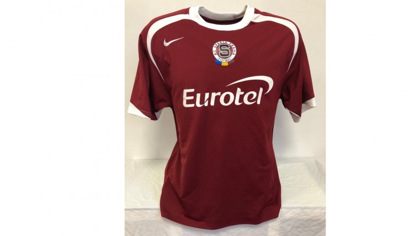 Lustrinelli's Sparta Praga Match Shirt, 2006/07