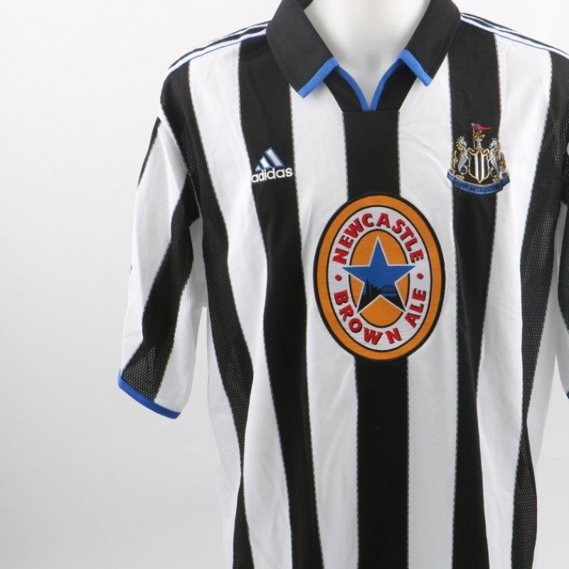 Dabizas Newcastle issued/match worn Shirt, Premier League 1999/2000
