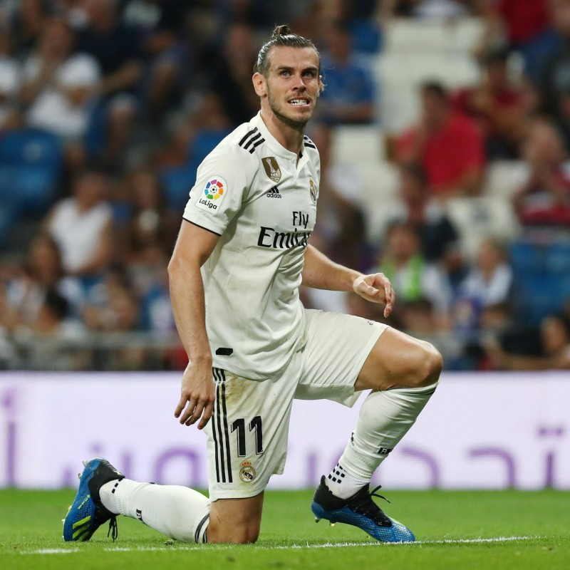 Bale's Real Madrid Match-Issue/Worn Shirt, Liga 2018/19