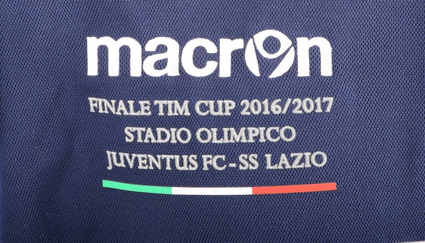 Immobile Lazio-Issued Shirt, TIM Cup Final - Signed