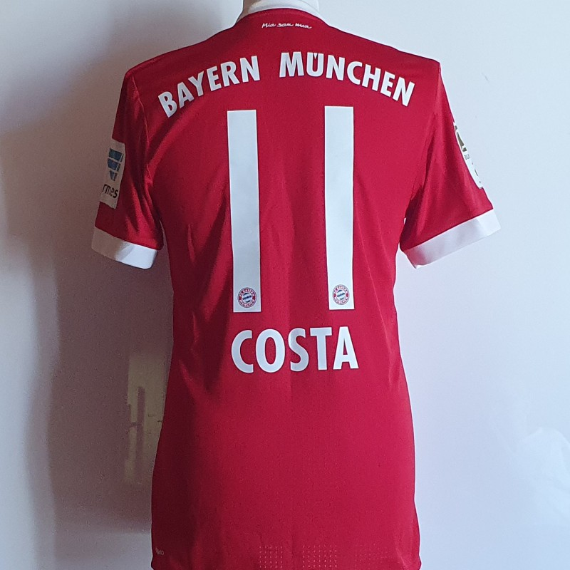 Costa's Bayern Munich Match Shirt