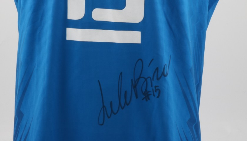 Match worn Birarelli shirt, Rio 2016 - signed