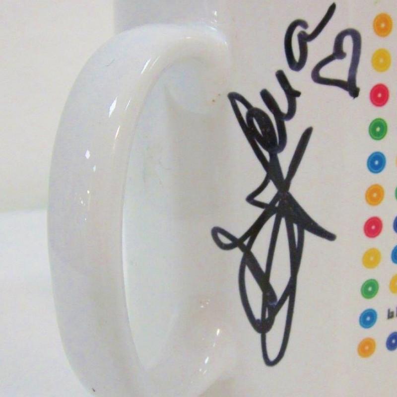 Cristina D'Avena Web Notte signed Cup