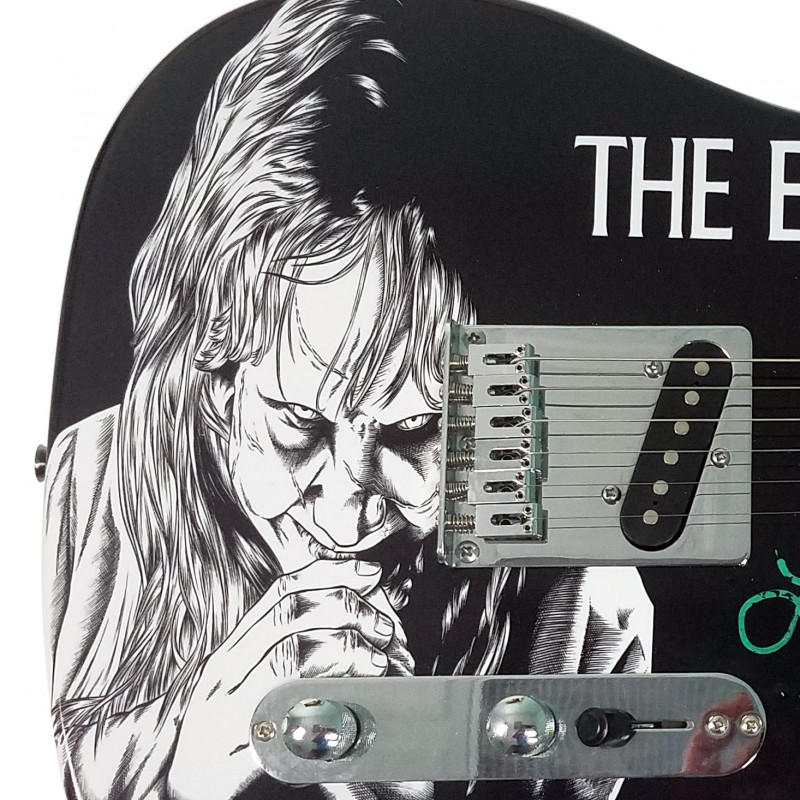 "Linda Blair Hand Signed ""The Exorcist"" Guitar"