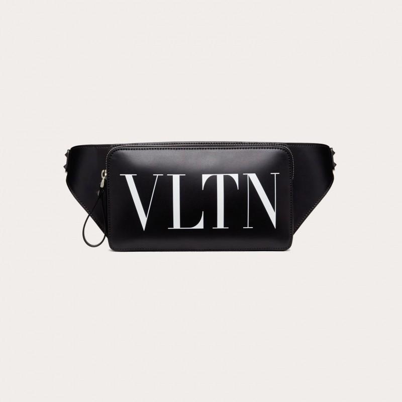 VLTN Leather Belt Bag