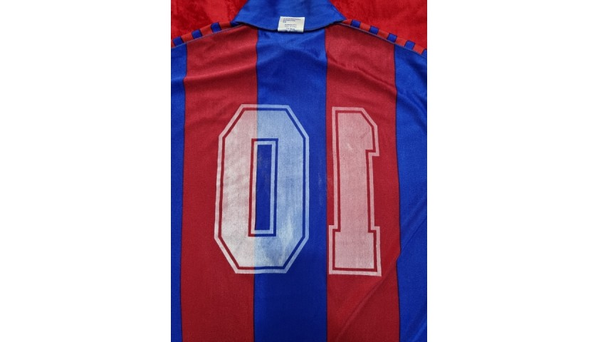 Maradona's Barcelona Signed Match Shirt, 1983/84