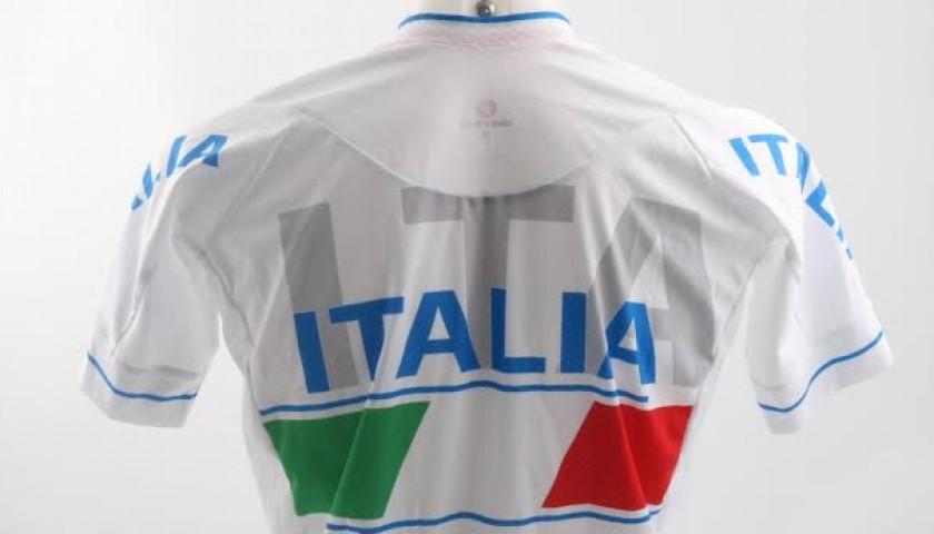 Francesca Porcellato worn suit, Italian para-cycling bronze medal in Rio 2016, signed