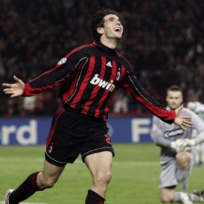 Kaká's Milan Signed Match Shirt, 2006/07