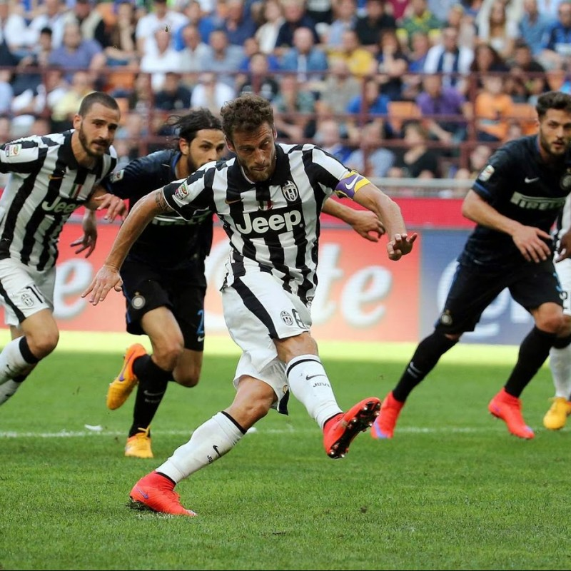 Officiale Inter-Juventus 2014/15 Serie A Pennant