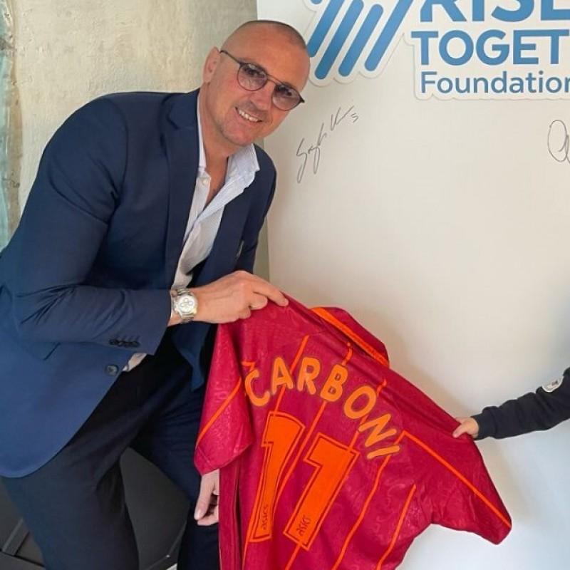Carboni's Roma Worn Shirt, 1996/97