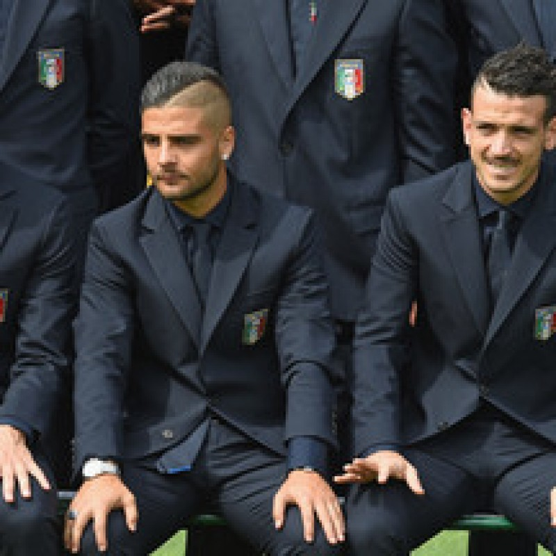 Alessandro Florenzi's Italy National Football Team Shirt by Ermanno Scervino
