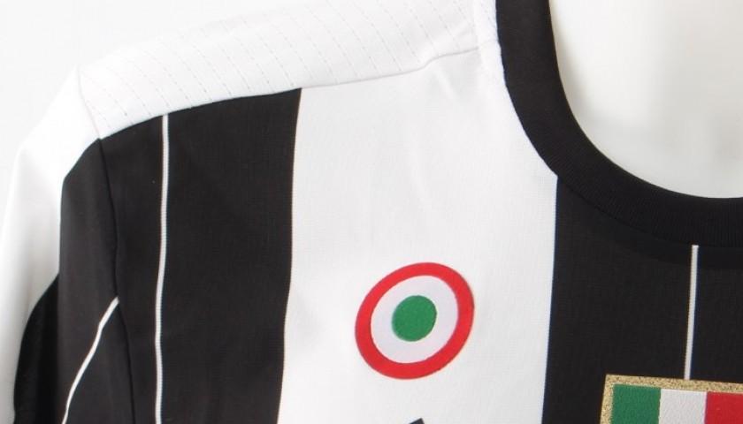 Match Worn Chiellini shirt, Juventus-Sampdoria 14/05, Special Patch UNICEF