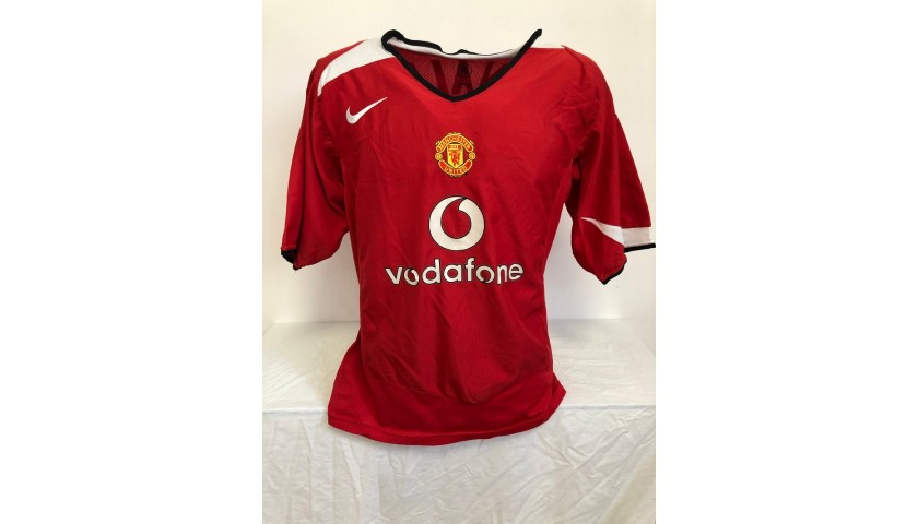 Ronaldo's Official Manchester United Signed Shirt, 2004/05