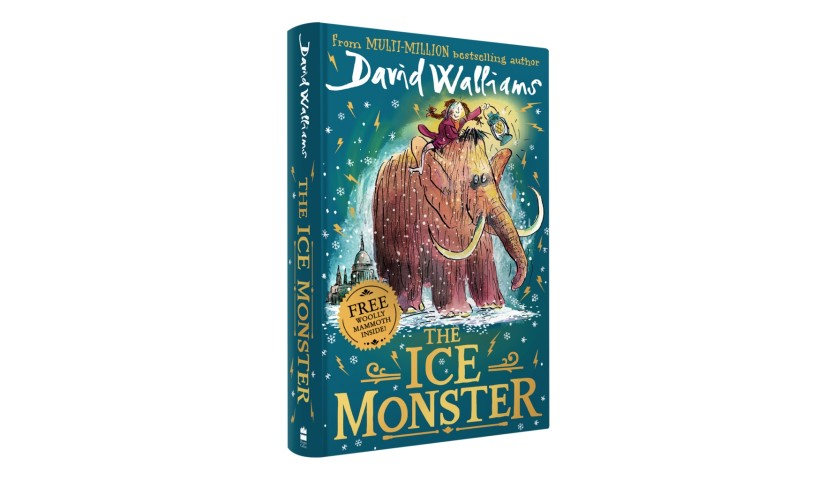 "A Signed Copy of ""The Ice Monster"" by David Walliams"