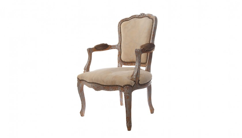 """Dellera """"Dripped"""" Upholstered Chair"""