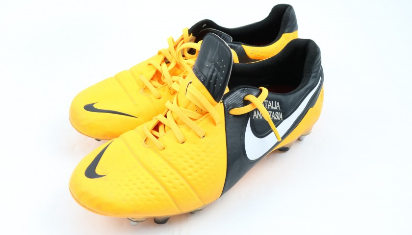 Nike Boots Worn by Cristian Chivu