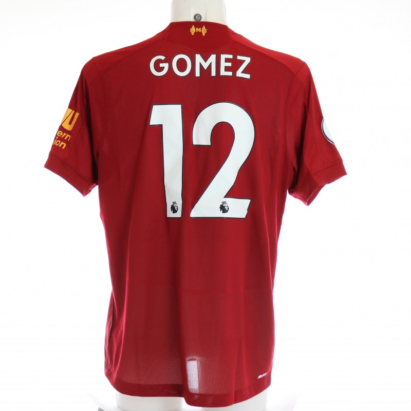 Gomez's Issued and Signed Limited Edition 19/20 Liverpool FC Shirt
