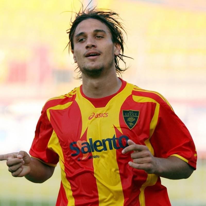 Osvaldo's Lecce Match Shirt, 2006/07