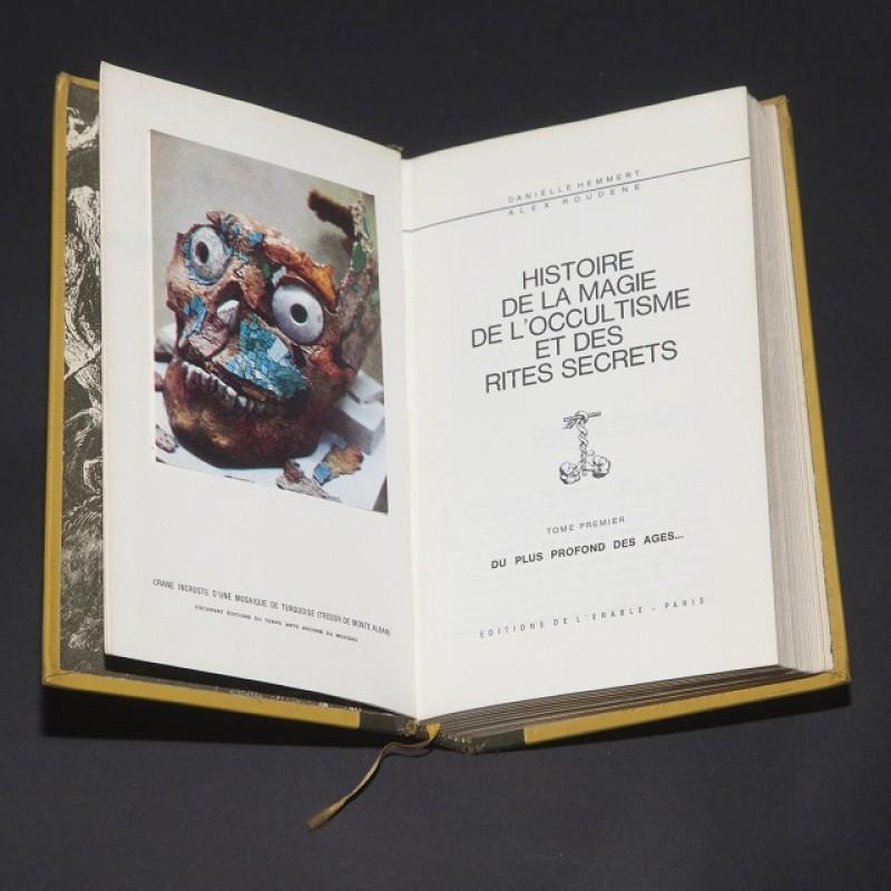 Histoire de la magie et de l'occultisme Tome 1 - French Language Book