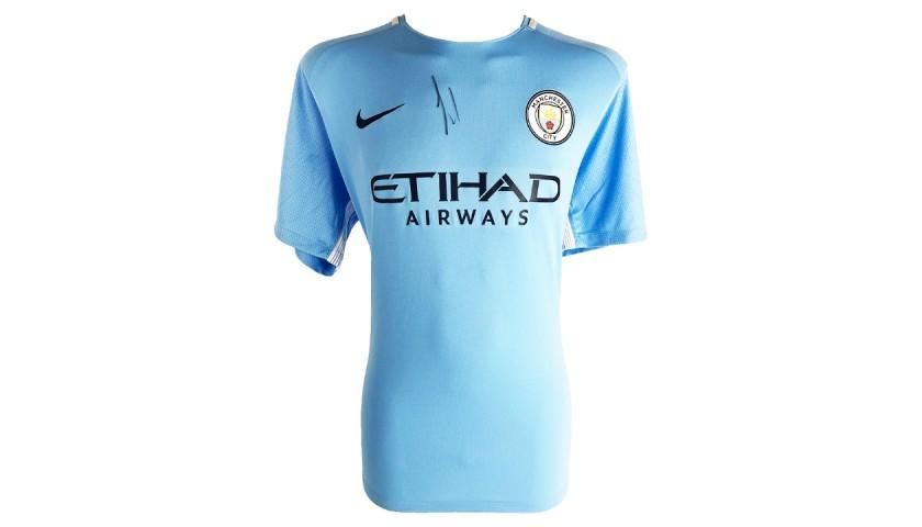 Kevin De Bruyne Manchester City Shirt -  Signed