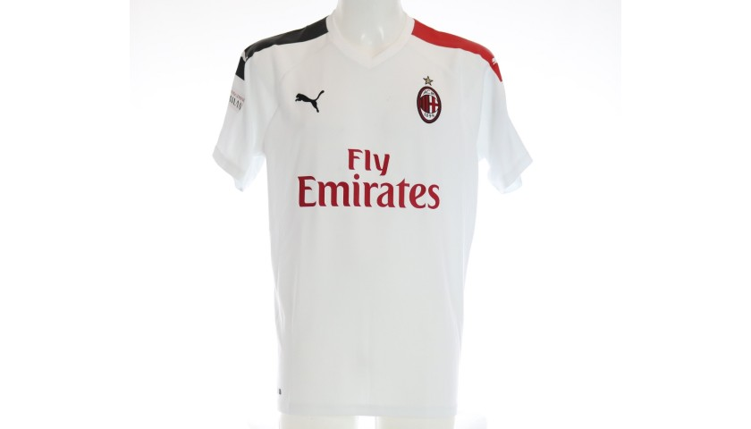 Official AC Milan Shirt, 2019/20 - Signed by Lodetti