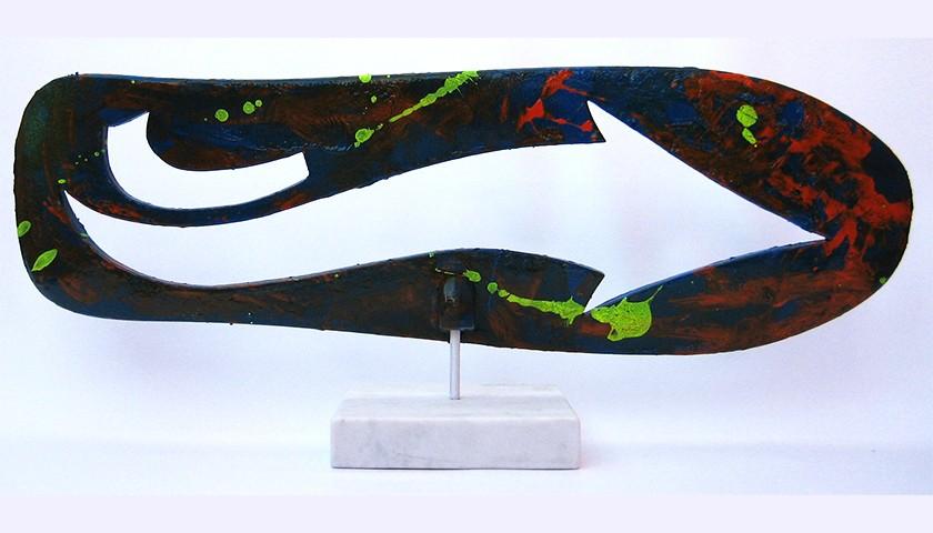"""""""Arrow"""" Skateboard Painted by Flycat"""