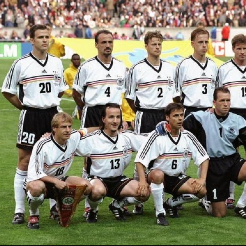 Ziege's Germany WC 1998 Match Shirt