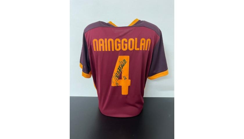 Nainggolan's Official Roma Signed Shirt, Chinese New Year 2015/16