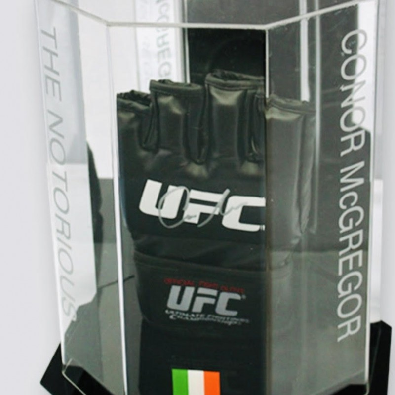 Conor McGregor Hand Signed Fight UFC MMA Glove