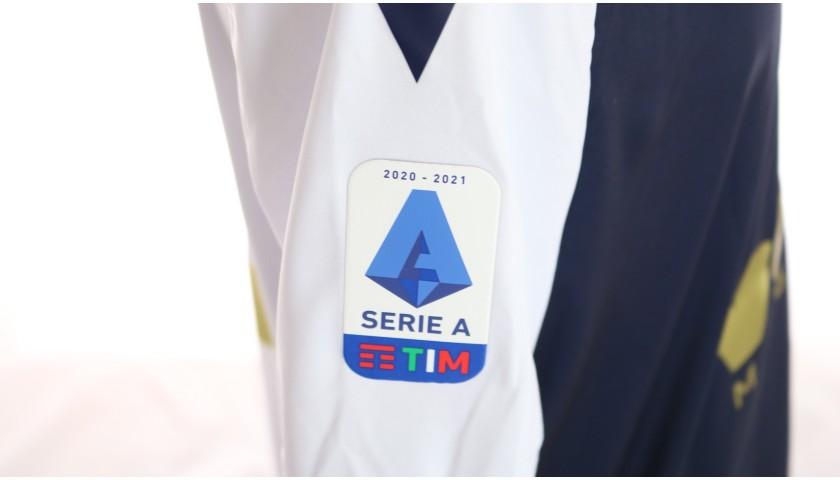 Colley's Worn Kit, Sampdoria-Milan 2020, SPECIAL 120 Years Andrea Doria