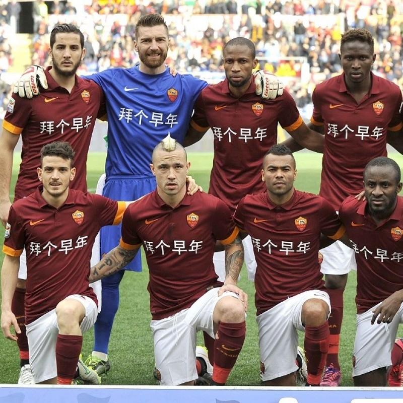 Nainggolan's Official Roma Signed Shirt, Chinese New Year 2014/15