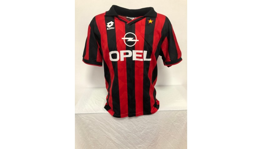 Albertini's Milan Signed Official Shirt, 1995/96