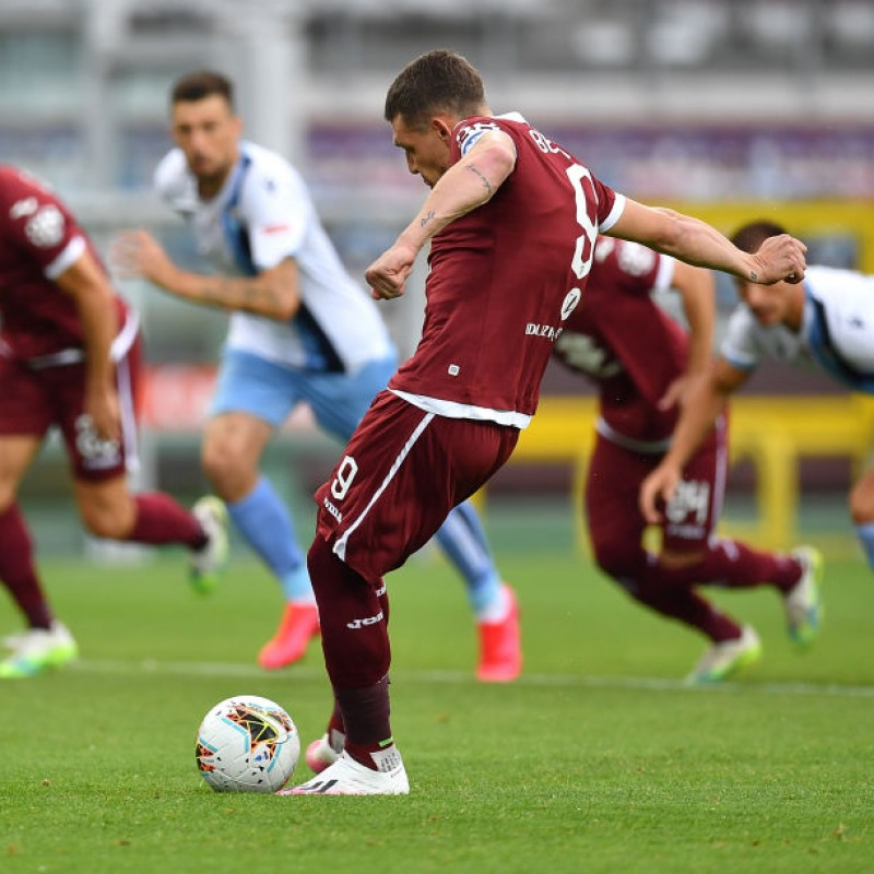 Belotti's Worn and Unwashed Shirt, Torino-Lazio 2020