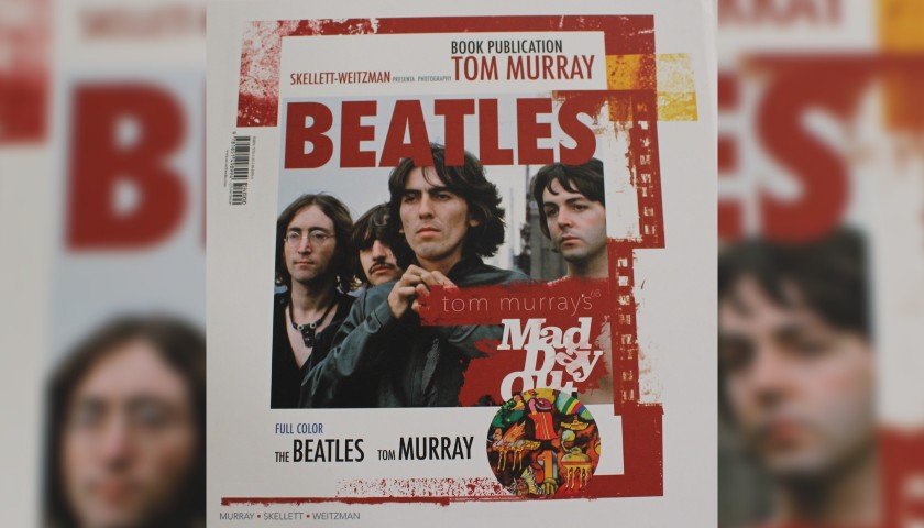 "Exclusive Signed Copy of The Beatles ""Mad Day Out"" Book by Tom Murray"