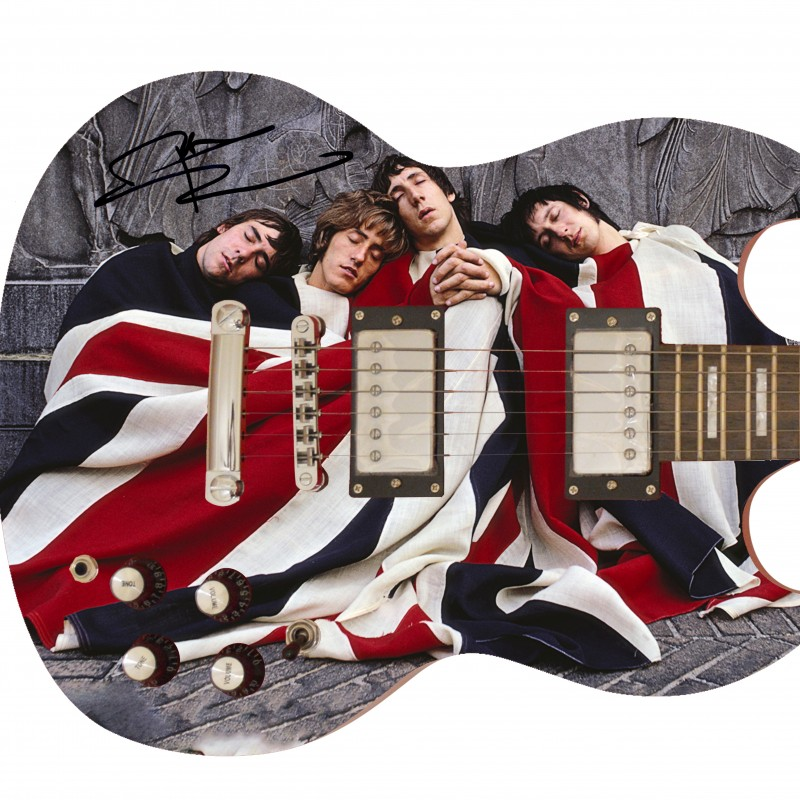 The Who Guitar Hand Signed by Pete Townshend
