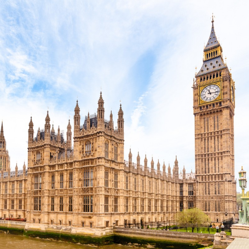 Tour of the House of Lords and Lunch for Two