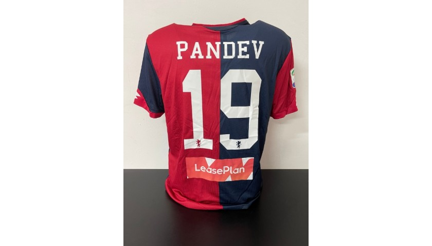 Pandev's Genoa Match Shirt, 2017/18