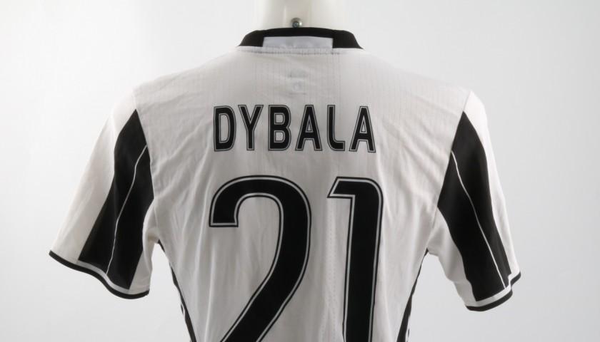 Match worn Dybala Juventus shirt, Serie A 16/17 UNWASHED