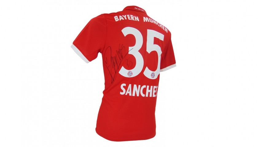 Official 2016/2017 Bayern Munich Shirt Signed by Renato Sanches