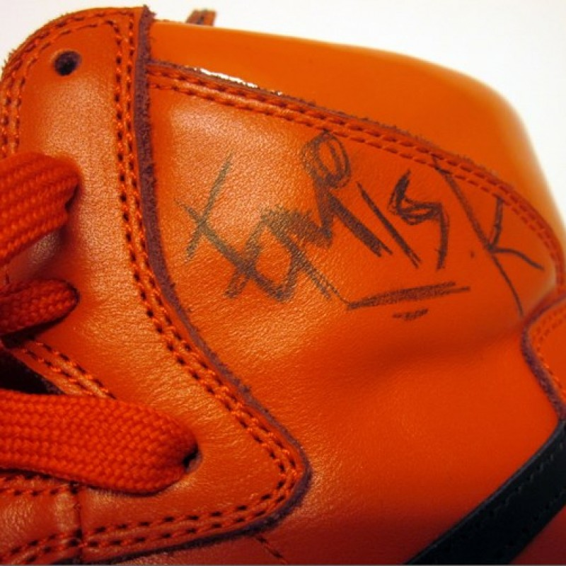 Emis Killa signed shoes limited edition size 7