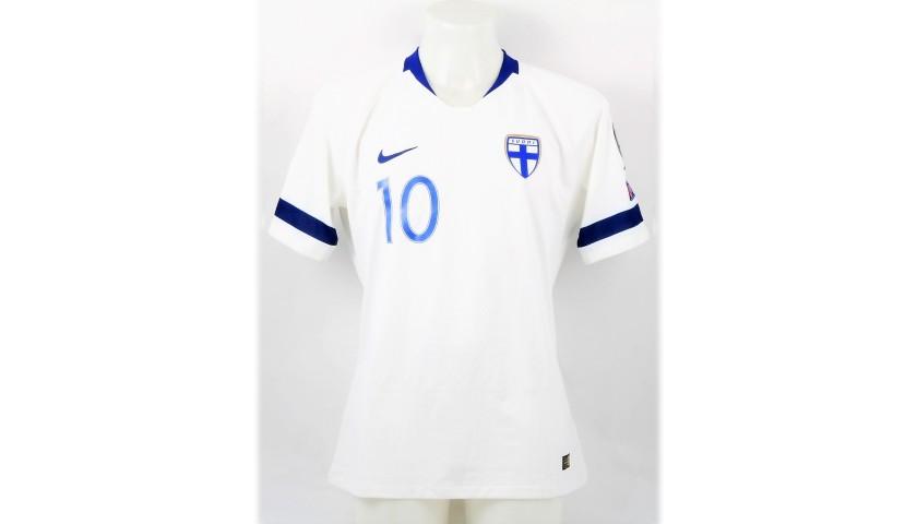 Pukki's Match Shirt, Italy-Finland 2019